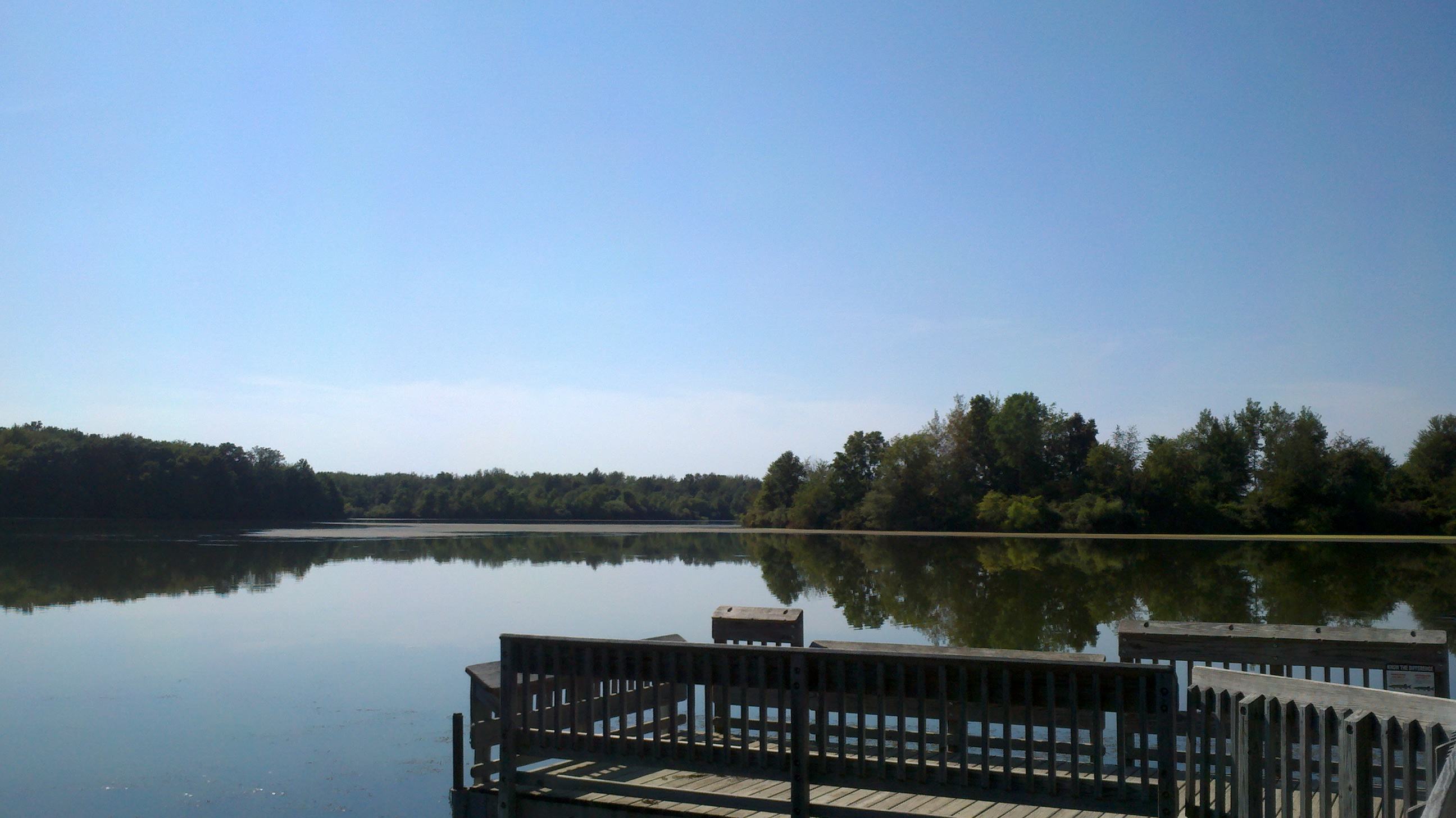 Dock and Lake Ovid