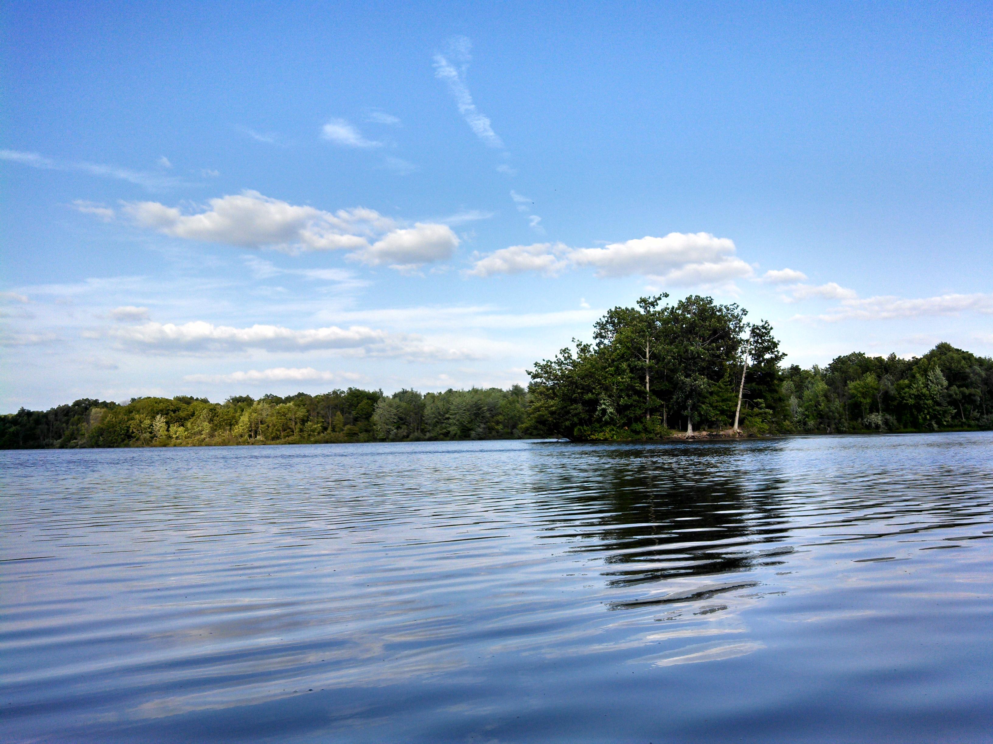 Lake Ovid from Kayak