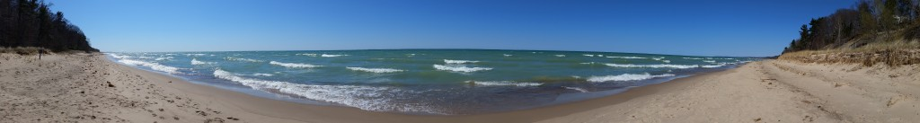 Panorama at Cherry Beach